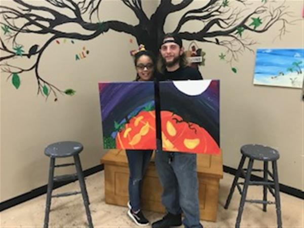 Private Cannabis Paint Party