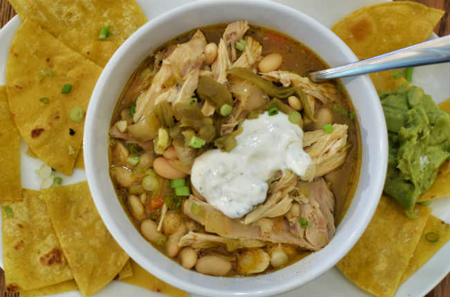 White Widow Chicken Chili