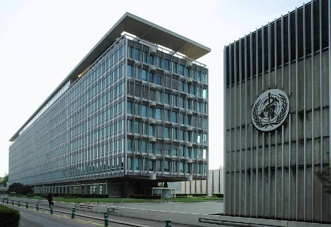 The World Health Organization building