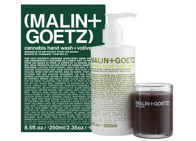 Malin and Goetz Votive Set