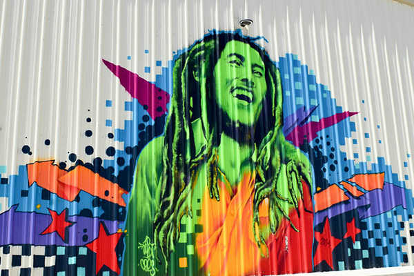 The Spot 420 Mural