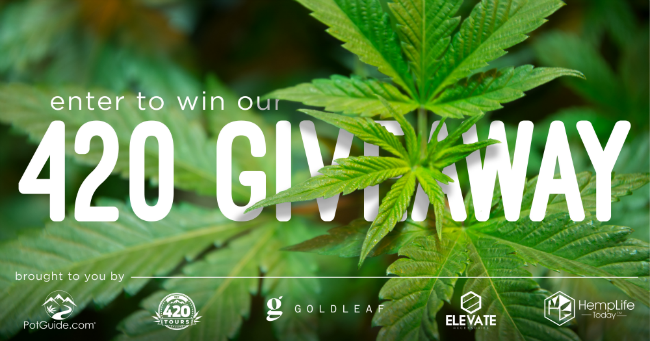 PotGuide 420 Giveaway