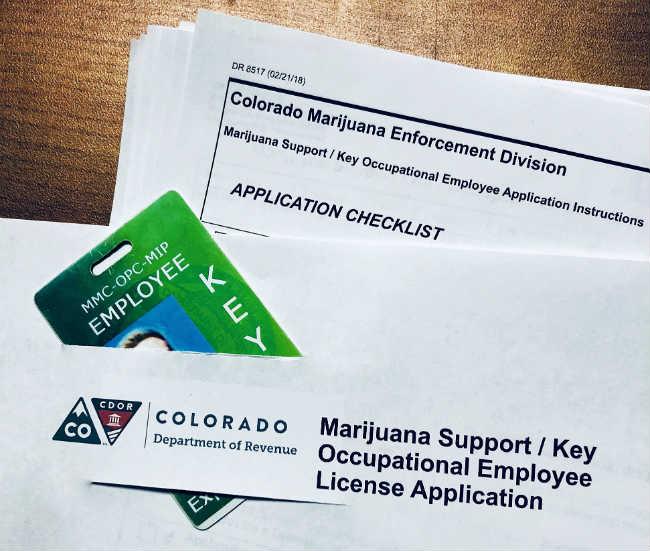 mmj support key license colorado