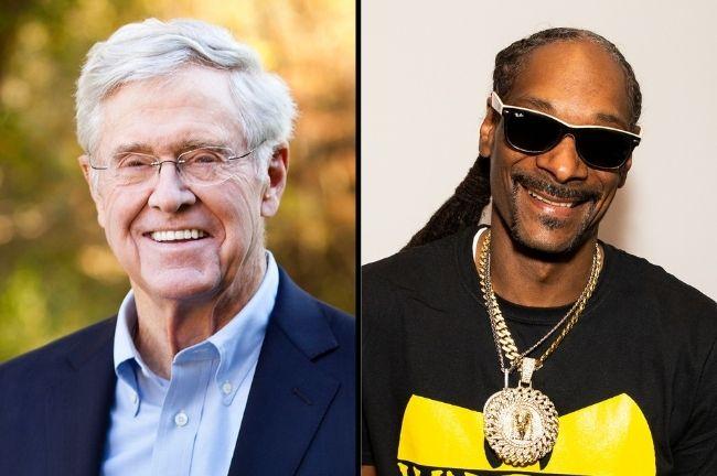 Snoop Dog and Charles Koch