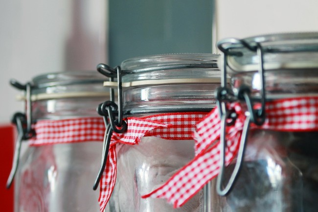 Airtight mason jars