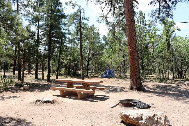 A campground