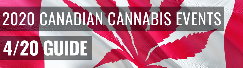 Canadian 4/20 Events Banner