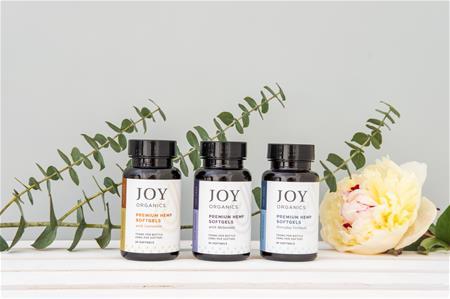 Joy Organics Premium CBD Softgels