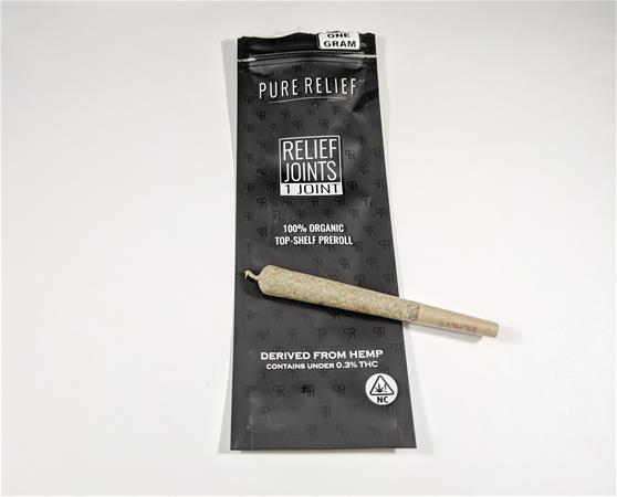 Pure Relief Raw Hemp CBD Flower Relief Rolls