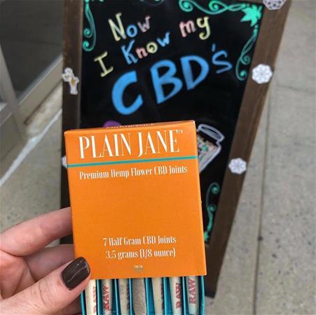 Plain Jane Kush CBD Flower