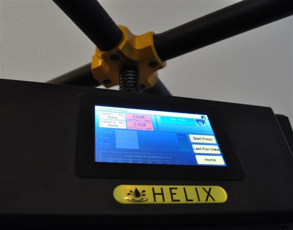 Helix 3 Ton Manual Rosin Press