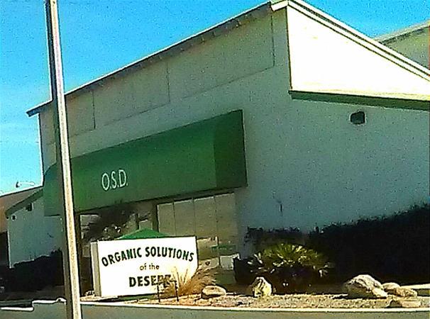 Organic Solutions of the Desert