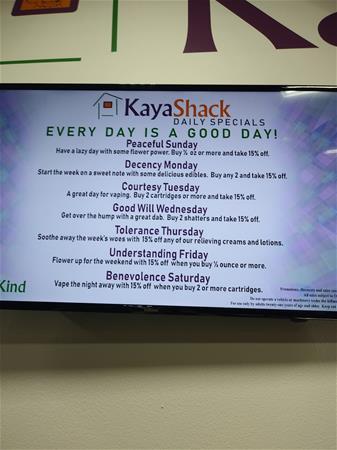 Kaya Shack - Central Salem