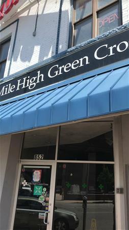 Mile High Green Cross
