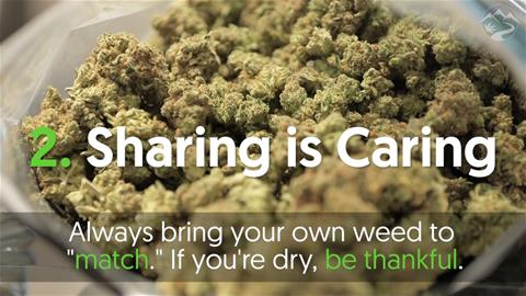 Cannabis Etiquette 101